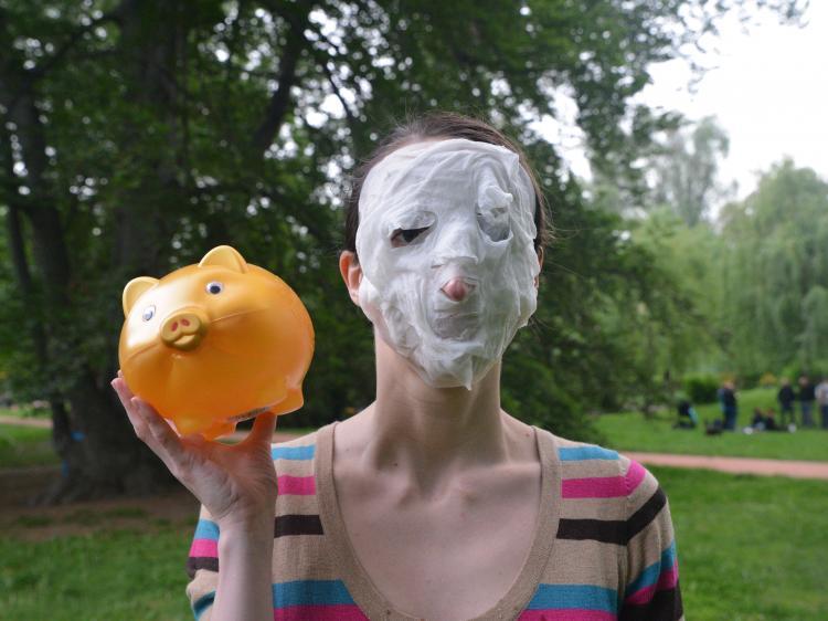 Maska je moje nová tvář
